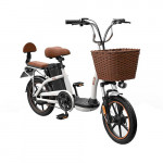 HIMO C16 Electric Bicycle White