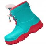 Honeywell Waterproof Non-slip Kids Boots Green/Red Size 32