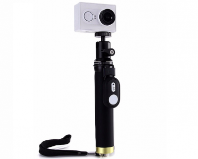 Yi Action Camera Monopod Selfie Stick + Bluetooth Remote Control