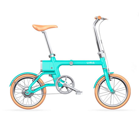 Yunbike UMA Mini Foldable Bicycle Blue