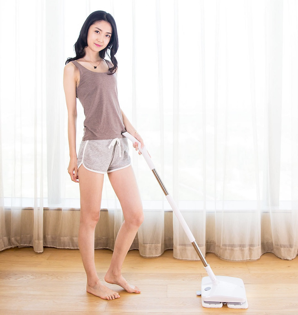 Xiaomi Handheld Electric Mop Girl With the Mop 2