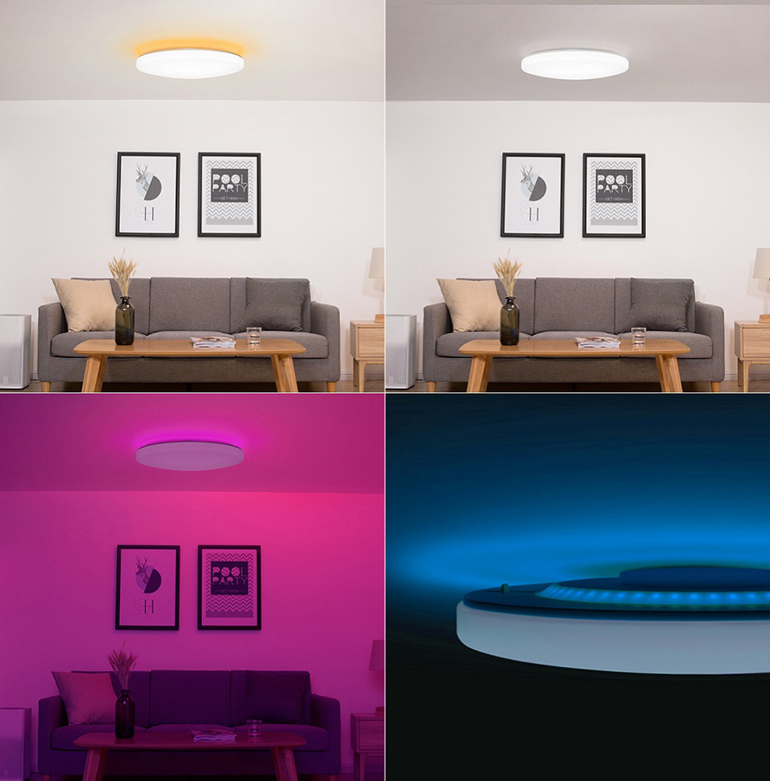 Xiaomi Yeelight Bright Moon 480 Stars Smart LED Ceiling Lamp Photo 5